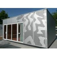China Facade Architectural Prefabricated Aluminium Cladding Panels Impact Resistance wholesale