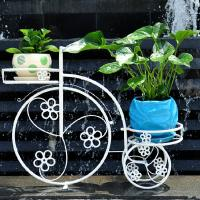 China wrought iron flower rack planter wholesale
