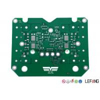 TG180 Single Sided PCB Power Supply Circuit Board With Green Solder Mask