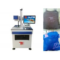 China Laser Printing Machine For T-Shirt , Clothing CO2 Laser Engraving Machine wholesale