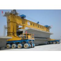 China 600T Max Load Launching Gantry Crane Four Points Lifting / Three Points Suspending wholesale