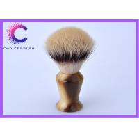 China Hand - made European synthetic hair shaving cream brush for  gift wholesale