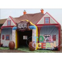 China Commercial Inflatable Pub Lawn Tent /  Inflatable Amusement Park Drink House wholesale