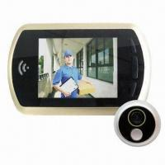"China Digital Door Peephole Viewer with Ring Luxury 3.5"" LCD/Night Mode, Fits 120mm Thick Door/Door Camera wholesale"