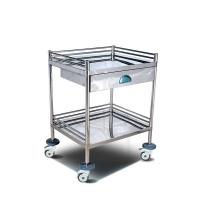 Buy cheap Assembled Type KY-KH6657 Stainless Steel Medical Emergency Trolley from wholesalers
