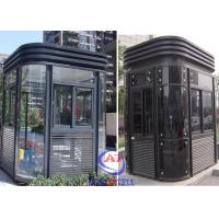 China Parking Entrance Modern fire resistant security guard room Nice wholesale