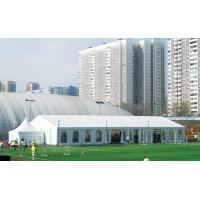 China Durable Water Proof Clear Span Structure Romantic Wedding Tents For 200 People wholesale