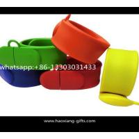 China Debossed silicone slap band wide slap bracelet & silicone slap wristbands wholesale wholesale