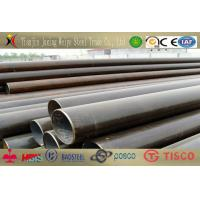 China 12M Cold Rolled Welded Steel Pipes Straight Seam Low Resistance , ASTM A53 wholesale