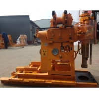 China 150m Depth Bore Hole Hydraulic Rotary Drilling Rig Portable wholesale
