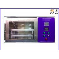 China Automotive Interior Horizontal Flammability Tester For Textile Burn Resistance on sale
