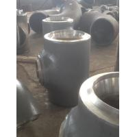 China EN 10253 Heavy wall thickness tee pipe fittings , steel pipe connectors wholesale