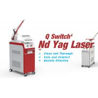 China OEM & ODM salon use tattoo laser removal machine q switched nd yag laser with ce fda wholesale