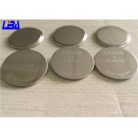 China Cell Coin CR2016 Button Batteries High Energy Density Light Weight wholesale