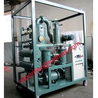 Buy cheap Waste management transformer oil filtration machine,no pollution,high oil cleanse after treatment from wholesalers