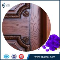 Quality leffeck high end 100% plain wood double doors - Custom Made for sale