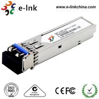 China 100BASE - FX SFP Fiber Optical Transceiver Module , 1 Gbe Sfp Sx Fiber Transceiver wholesale