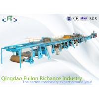 China 7 Ply H-Speed Installing 3 Single Facer Corrugated Cardboard  Production Line wholesale