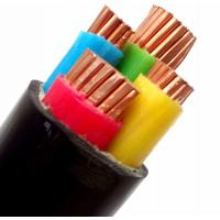 China Black 4 Core PVC Insulated Copper Wire Xlpe Insulated PVC Sheathed Cable wholesale