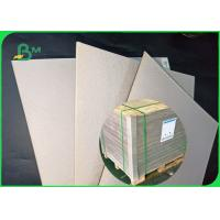 Buy cheap 1.5mm - 1.35mm Smooth surface environmentally friendly Greyboard in sheet from wholesalers