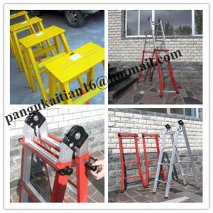 China Straight fiberglass ladder Collapsible ladder Fiberglass Insulation ladder&straight wholesale