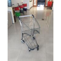 Q195 Low Carbon Steel Supermarket Shopping Trolley Use In Airport Free Duty