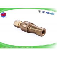 China S863-1 Water Pipe Fitting Sodick EDM Parts Brass Material Durable wholesale