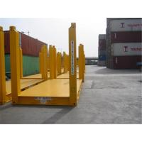 China Road Transport Used Flat Rack Containers / Flat Rack 20 Container wholesale