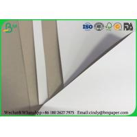 China 350g 450g Clay Coated Paper , White Duplex Board With Grey Back In Reel / Sheets wholesale