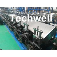 China Steel Structure Guide Rail Cold Roll Forming Machine for Making Elevator Electrical Wiring Guide Tracks wholesale