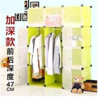 China 12 doors deep green daisy clothes wardrobes with hanging robs on sale