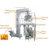 China Automatic Weighing Filling Sealing Multi Heads Weigher Food Packing Machine on sale