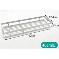 China Sticking Bathroom Storage Rack Shelf With Electrolysis For Family Bathroom wholesale