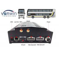 China 8 channel car security dvr recorder Built-In 3G / 4G / WIFI / G-Sensor DVR System for Bus wholesale
