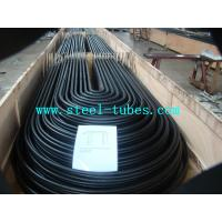 China U Bend Tube A 556 / 556M Cold Drawn Carbon Feedwater Heater Black Seamless Steel Pipe wholesale
