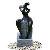 China Fiberglass / Resin Material Modern Garden Fountains With Lights wholesale