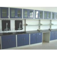 China All Steel and Wood  1500 / 1800 / 3000 * 750 * 850 mm Laboratory  Wall Bench with CE & SGS certificates wholesale