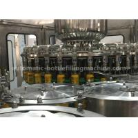 Buy cheap Rotary Automatic  Bottle Washer Filler Capper Monobloc Machine  For Mango Juice from wholesalers