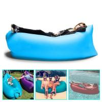 Buy cheap inflatable outdoor sofa Lamzac hangout lay bag from wholesalers