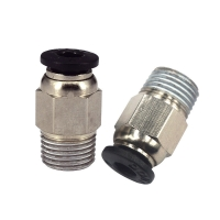 China Approx 9.6mm 3D Printer PC4 01 Quick Connector For E3D V6 Thread wholesale