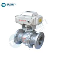 China Motorized Actuator AC24V Ball Valve of Petrol Chemical Valve with Material 161 480E on sale