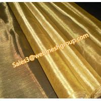 China 200 Mesh Brass Wire Mesh 0.04mm Wire Dia. wholesale