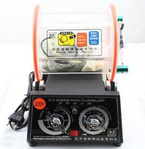 KT-6808-130 3KG Mini Barrel Tumbler , Rotary Polisher, Electric Jewelry Tools