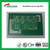 Quality Aeronautics Printed Circuit Board 8L FR4 Immersion Gold + Hard Gold Quick Turn Pcb for sale
