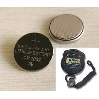 China Electronic Watches 3V Coin Battery High Drain 20 * 3.2mm  Long Life wholesale