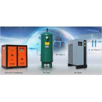 Direct drive rotary type 37KW double screw air compressor factory in China