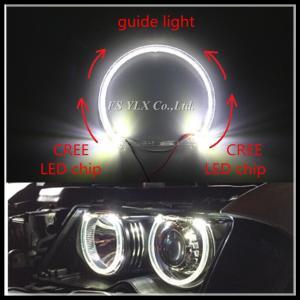 China CREE 2 SMD LED angel eyes for BMW E38 E39 E36 E46 LED headlight halo ring for BMW LED angel eyes 4x131mm wholesale