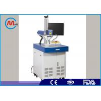 China 30W Glasses Frame / Metal Desktop Portable Laser Marking Machine 2d Rotary Style on sale