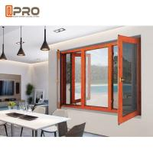 China Modern Custom Horizontal Casement Storm Windows / Aluminium House Windows wholesale