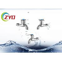 China Home Bathroom Polo Bibcock Taps Anti Corrosion Brass 57 / 59 Body Material wholesale